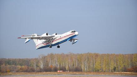 Из Воронежа улетели самолёт-амфибия и вертолёт, которые тушили мощнейшие лесные пожары