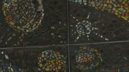 Власти рассказали о судьбе снесённой в воронежском «Полтиннике» «космической» мозаики