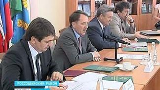 Глава области Алексей Гордеев посетил Россошанский район