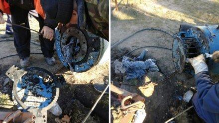 Необычный засор привёл к затоплению зловонными стоками целого квартала в Воронеже