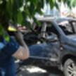 Газовый баллон взорвался внутри автомобиля с водителем в Воронеже