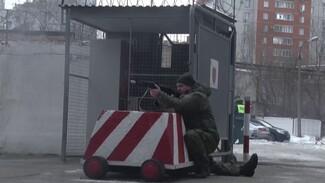 В Воронеже прошли шумныевоенные учения с условными террористами