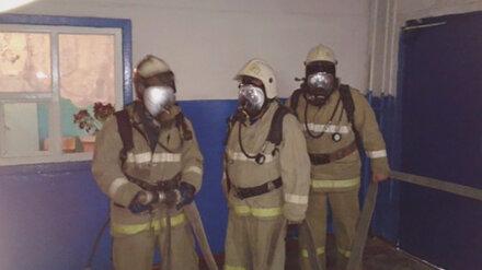 Под Воронежем из горящей многоэтажки эвакуировали 20 человек