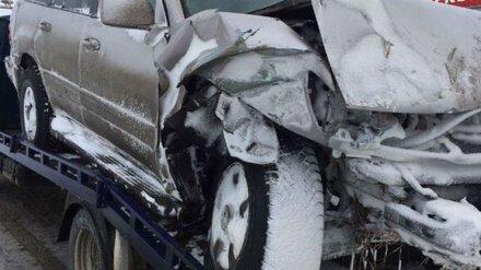 В Воронежской области иномарка вылетела в кювет: водитель погиб