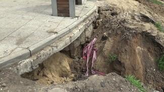 Жители воронежского райцентра о смытом ливнем парке за 85 млн: «Как селевой поток сошёл»