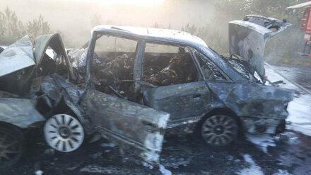 Следователи завели уголовное дело после ДТП под Воронежем, в котором заживо сгорели 5 человек