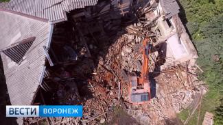 В Воронеже 56 расселённых аварийных домов снесут в 2018 году