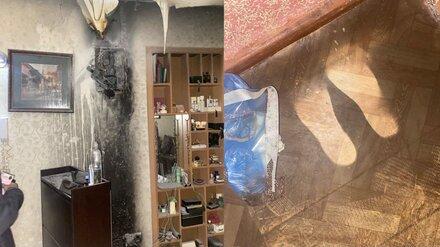 Воронежский таксист бросился в горящую квартиру и потушил пожар