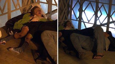 Воронежцы сообщили о ночевавшей с «бомжом» девочке в переходе