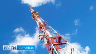 На телебашне в центре Воронежа начнут показывать время и прогноз погоды