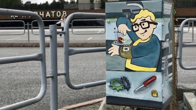 Воронежских художников попросили превратить уличные шкафы в арт-объекты