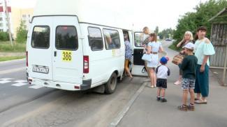 Пригородные маршрутки станут высаживать пассажиров на окраинах Воронежа