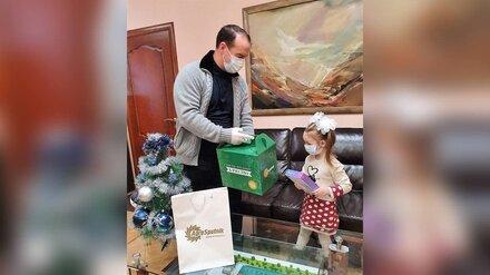 «Ёлка желаний» помогла исполнить мечту четырёхлетней малышки из Богучарского района