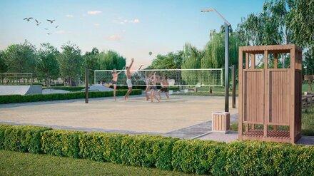 Скейт-парк, зона для пикника и парковка. Как обновят популярный пляж под Воронежем
