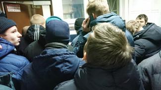 После победы «Факела» над «Авангардом» в Воронеже задержали более 120 фанатов