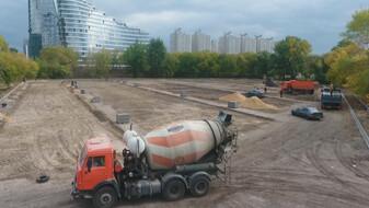 Автодром у воронежского парка «Дельфин» заменят пешеходные зоны и парковка