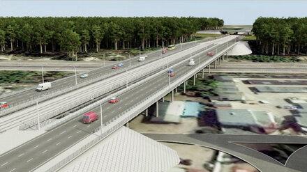 Перед строительством Остужевской развязки в Воронеже построят новую дорогу