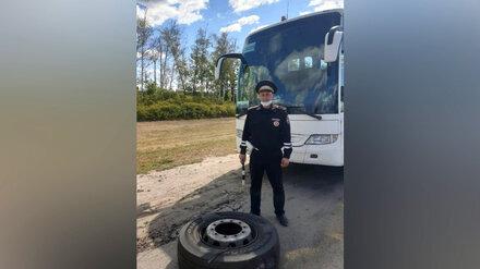 Автобус с 30 туристами из Адлера застрял на трассе под Воронежем
