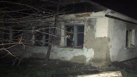 В Воронежской области в сгоревшем доме нашли тела 2 мужчин