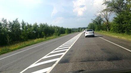 Водители пожаловались на 40-километровую «сплошную» на воронежской трассе