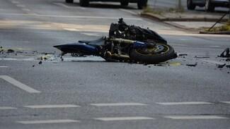 В Воронежской области из-за пьяного водителя получил травмы подросток-мотоциклист