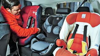 Глава воронежской ГИБДД назвал самое безопасное место в машине для перевозки детей