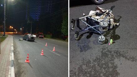 Сбивший коляску с младенцем воронежец за год нарушил ПДД 45 раз