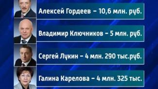 Воронежские политики отчитались о заработанных рублях