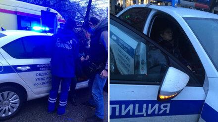 Две женщины покалечились за несколько минут в центре Воронежа