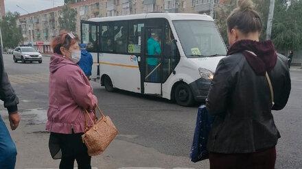 Воронежцы пожаловались на редкие маршрутки по утрам