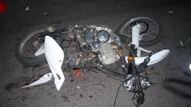 На трассе в Воронежской области мотоциклист погиб в ДТП с иномаркой
