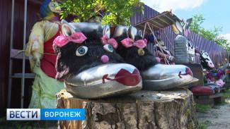 Жительница Воронежской области с помощью творчества даёт вторую жизнь ненужным вещам