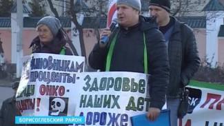 На митинг против добычи никеля в Борисоглебске собралось около 100 человек