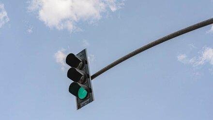 На перекрёстке в центре Воронежа поставили светофор