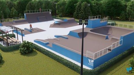 Воронежцам показали, каким будет скейт-парк в «Южном»