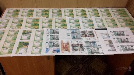 Пенсионер печатал деньги на принтере и распространял их в Воронежской области