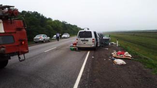 После ДТП с 1 погибшим и 8 пострадавшими на воронежской трассе возбудили уголовное дело