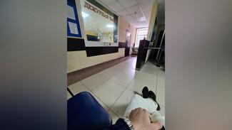 Появилось фото последствий взрыва в лискинском отделе полиции