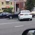 BMW попал в аварию с такси в Воронеже