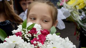 В Воронежской области линейки 1 сентября проведут только для первоклассников и выпускников