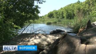 Бетонные баррикады на реке в Воронежской области так и не убрали