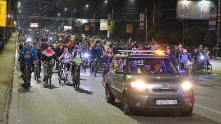 Организаторы назвали число участников Велоночи-2019 в Воронеже