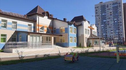 В Воронеже досрочно сдали детский сад
