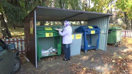 В Воронежской области с 2021 года 4 города будут собирать мусор раздельно
