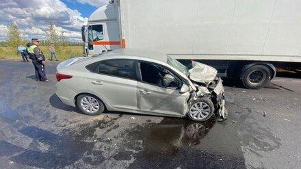 Появились фото последствий ДТП с 7 пострадавшими на трассе под Воронежем