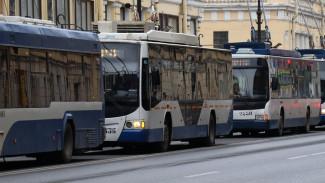 В Воронеже на год закрыли движение троллейбуса №17