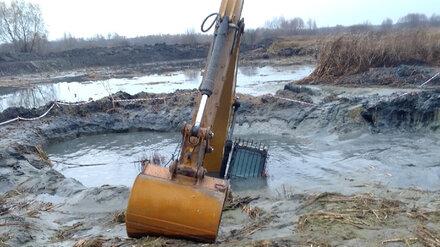 В Воронеже утвердили штраф в 475 тысяч для утопившей экскаватор в Усманке фирмы