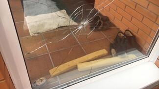 Под Воронежем пуля пробила окно частного дома