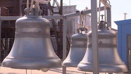 Со Спасской башни московского Кремля впервые зазвонили воронежские колокола