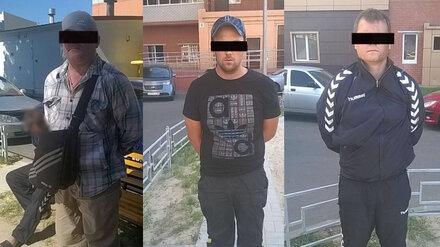 В Воронеже полицейские поймали банду квартирных воров